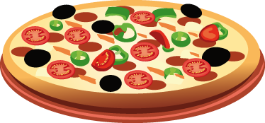 Resultado de imagen de dibujo infantil pizza